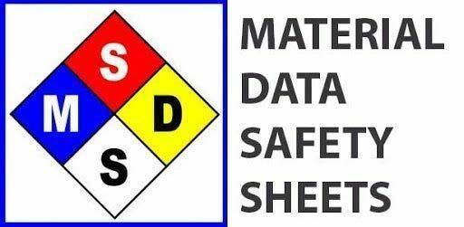 اطلاعات ایمنی مواد شیمیایی (MSDS)