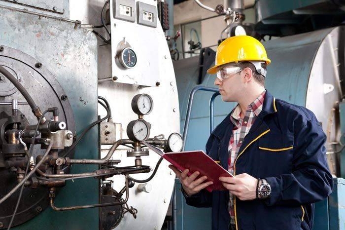 بازرسی فنی و تست دیگ بخار و ظروف تحت فشار
